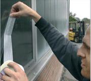 Reparación de paneles de cristal