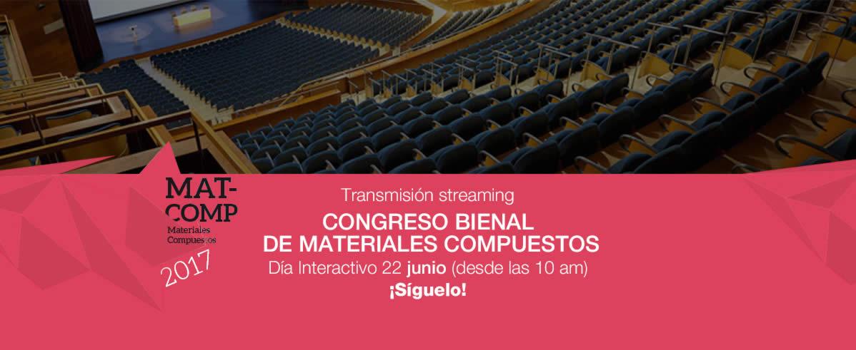 XII CONGRESO NACIONAL DE MATERIALES COMPUESTOS 2017