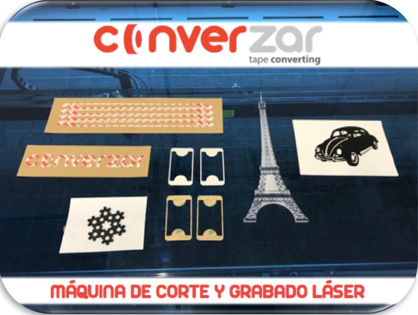 Tecnología Converzar: Corte y grabado láser
