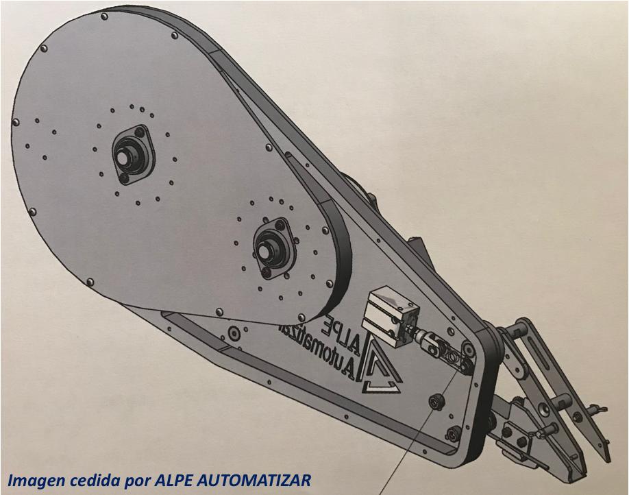 Prototipo de robot aplicador de cinta adhesiva