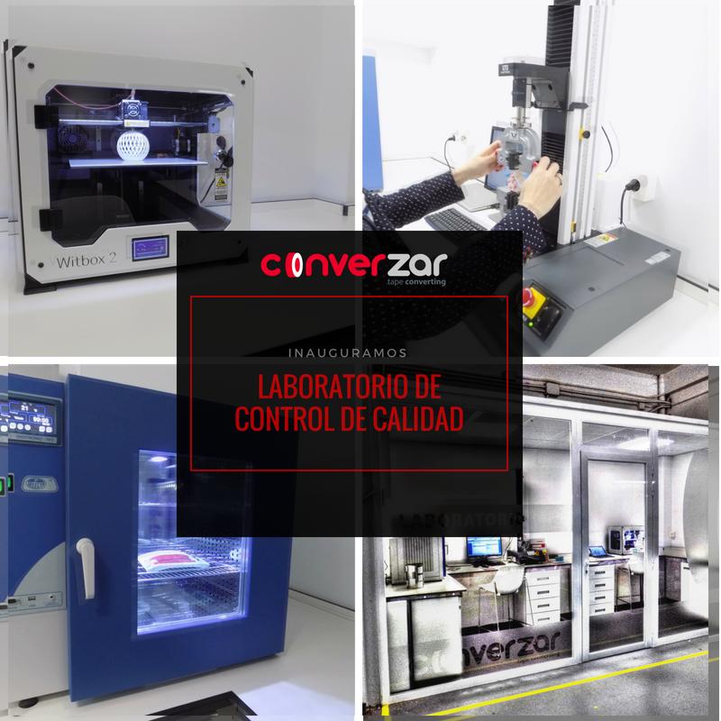 ¡Inauguramos Laboratorio de Control de Calidad CONVERZAR!