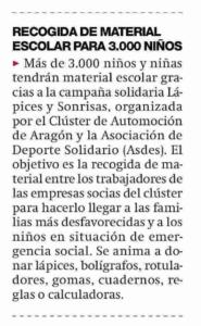 Nota periódico de Aragón