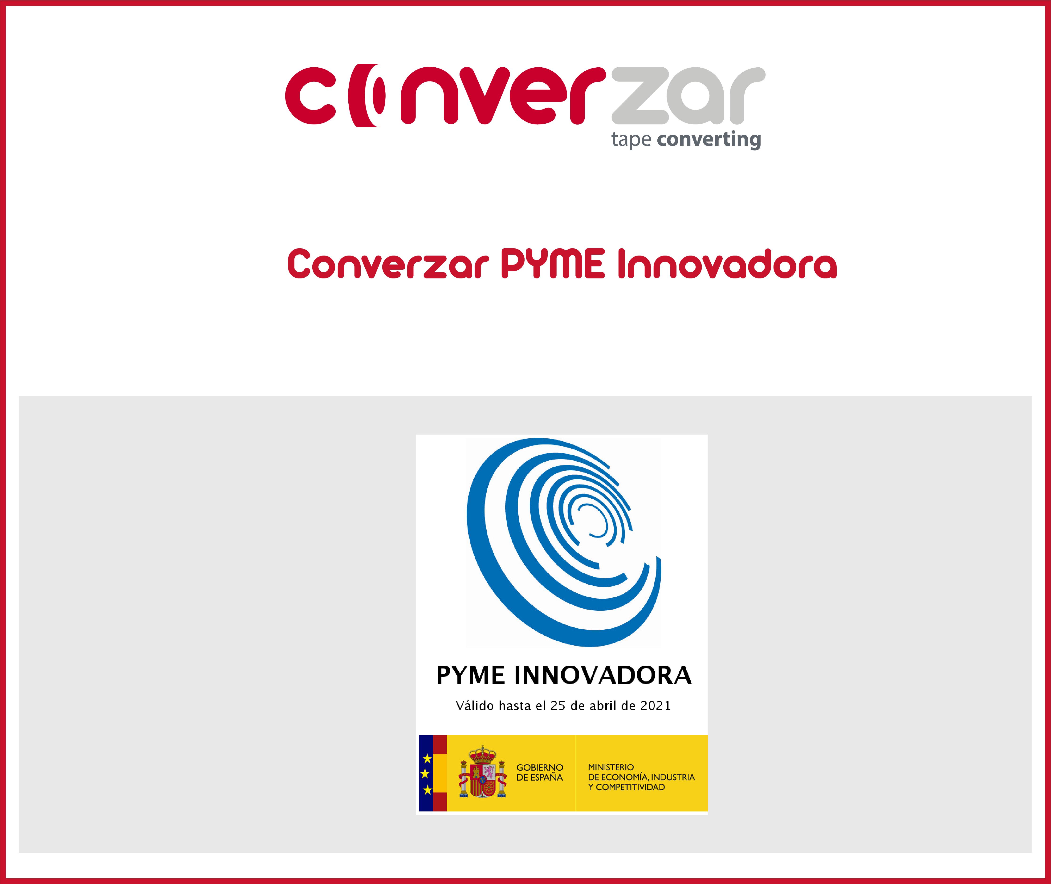 Converzar, PYME innovadora