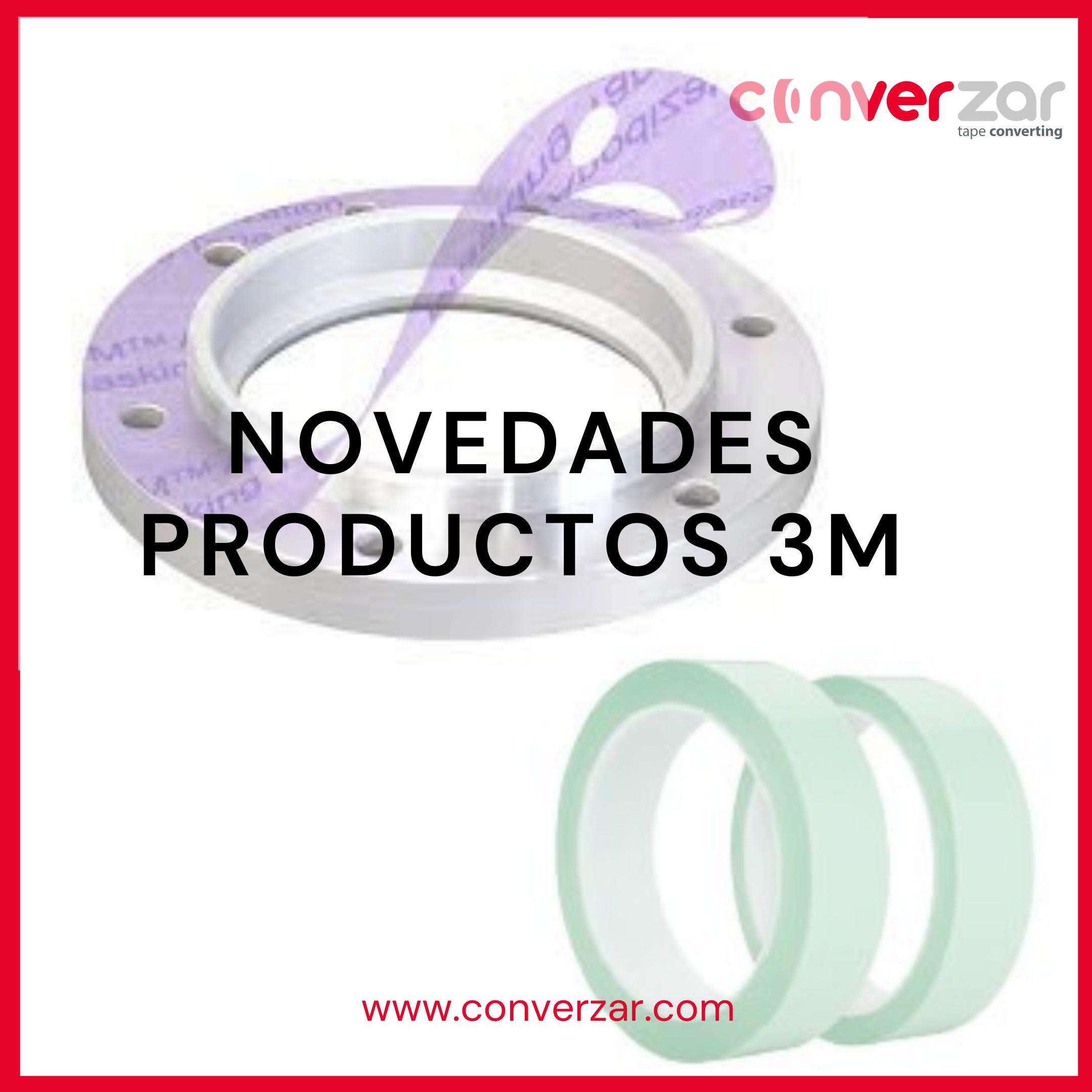 NOVEDADES PRODUCTOS 3M (8995L, 875 & 876)